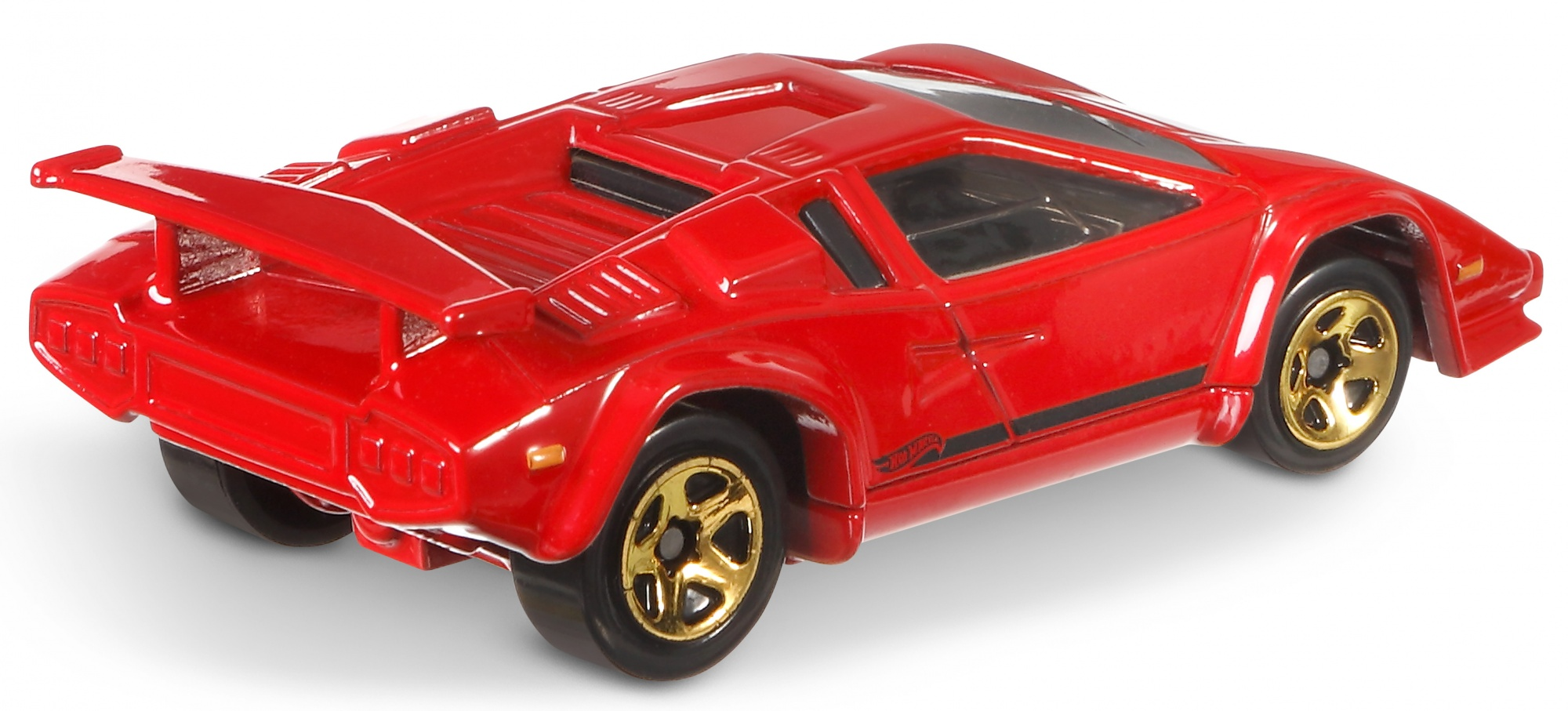 Hot Wheels Sports Car Lamborghini Countach Red 7 Cm