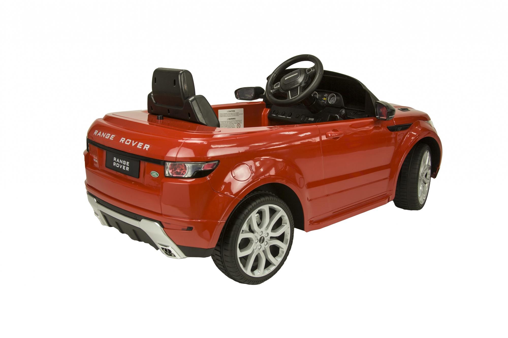 Runruntoys Land Rover Evoque Battery Vehicle 12 Volt R C Red
