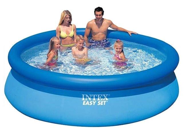 intex aufblasbaren pool easy set pool 305 x 76 cm blau internet toys. Black Bedroom Furniture Sets. Home Design Ideas