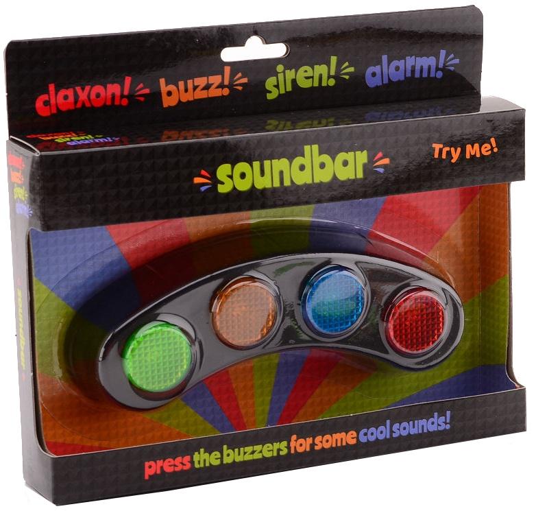 buzzing soundbar with light and sound