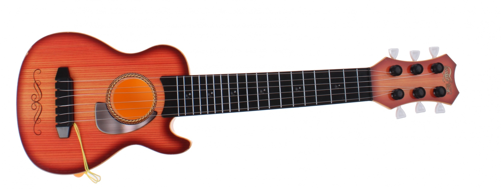 johntoy gitaar 6 snaren oranje 44 cm internet toys. Black Bedroom Furniture Sets. Home Design Ideas