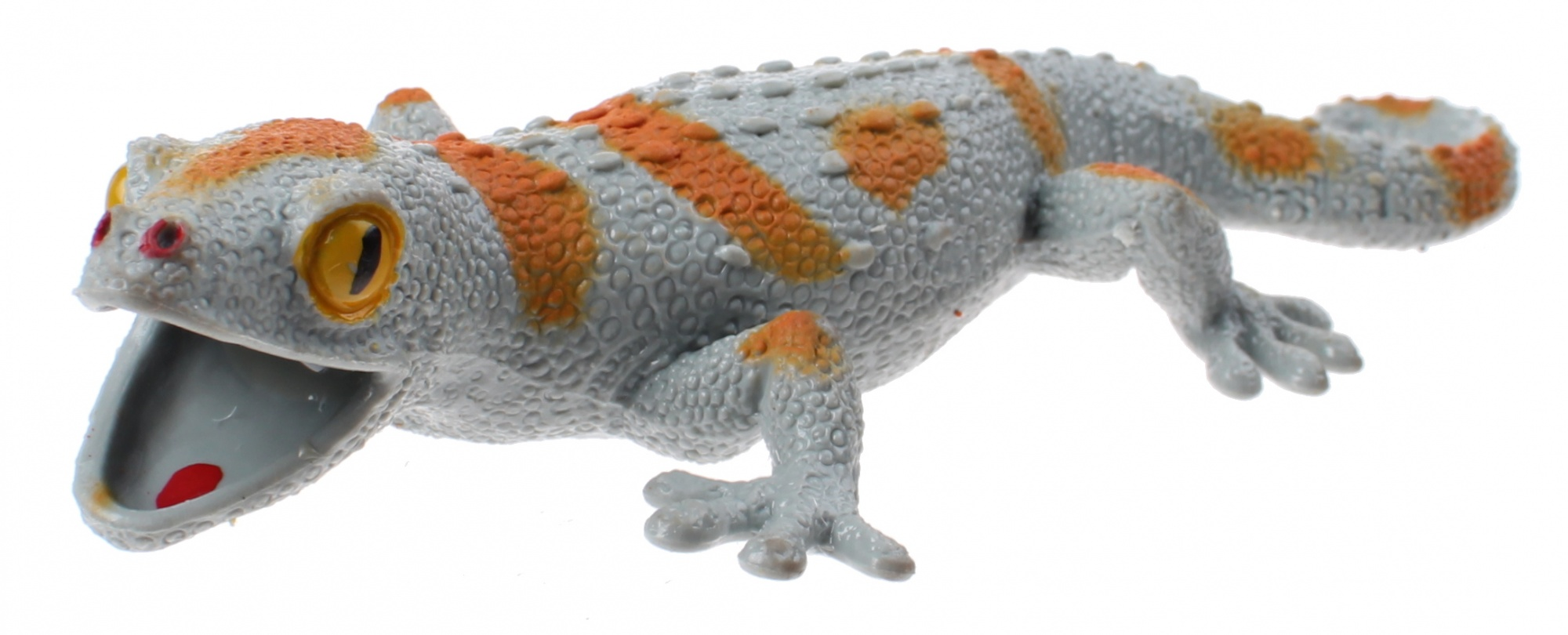 stretchy creatures lizard 20 cm gray