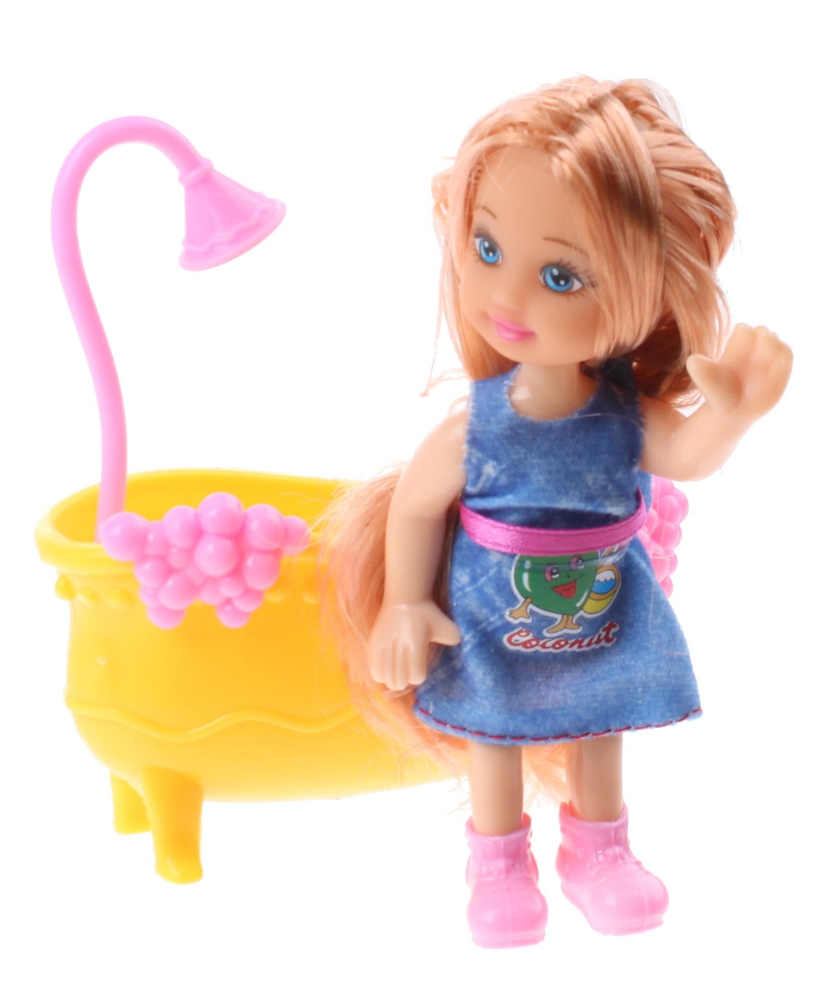 Jonotoys Teenager-Puppe Patty 12 cm Mädchen Badezimmer - Internet-Toys