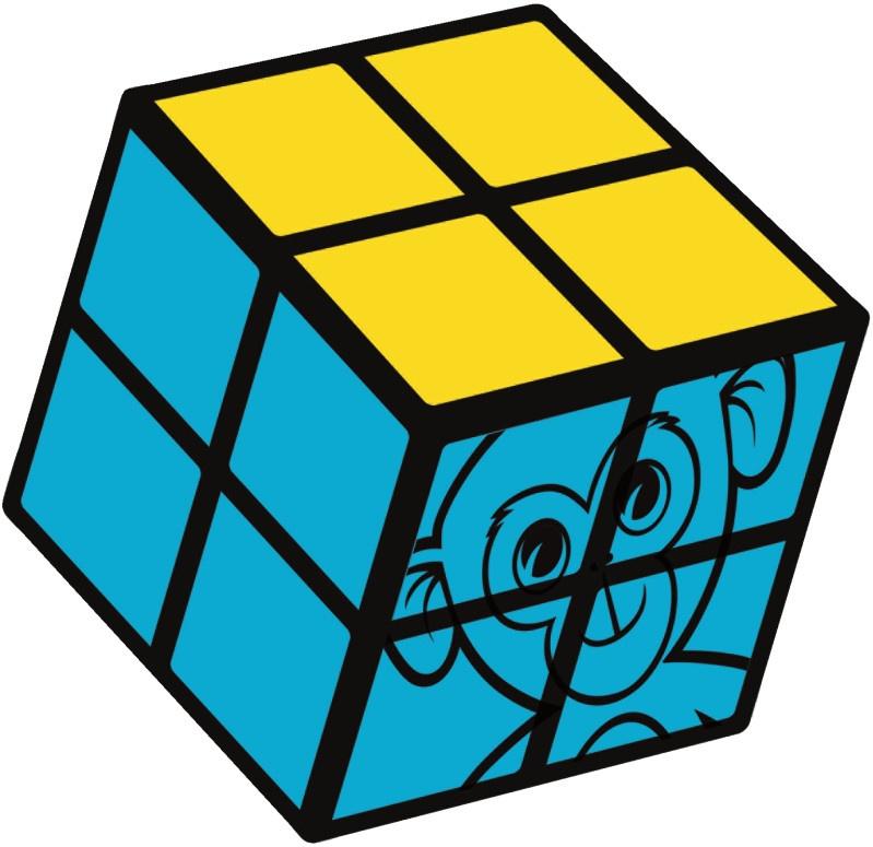 828de4d33ec Jumbo Rubik's Cube aap 2x2 junior - Internet-Toys
