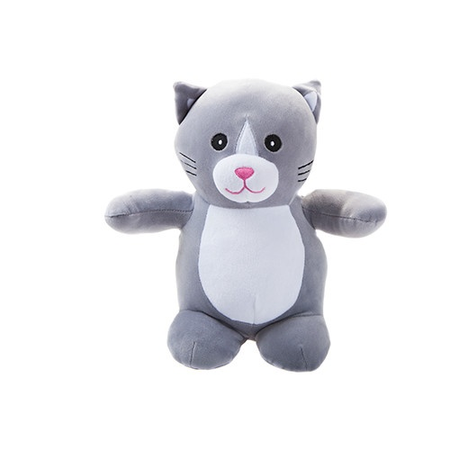 66ece7f95d53 Kamparo plush toy Cat 28 cm junior grey - Internet-Toys
