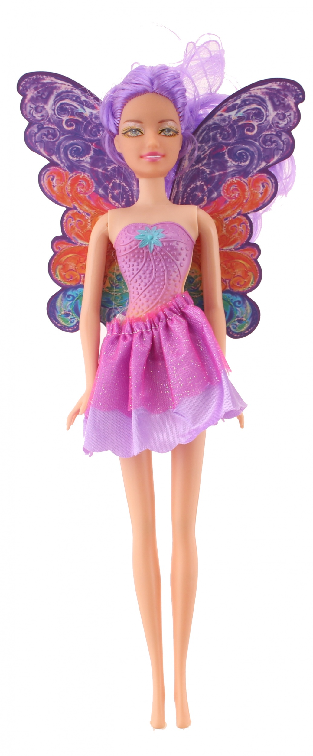 38c4b3315b1 Kids Fun tienerpop Princess Eva 30 cm roze/paars - Internet-Toys
