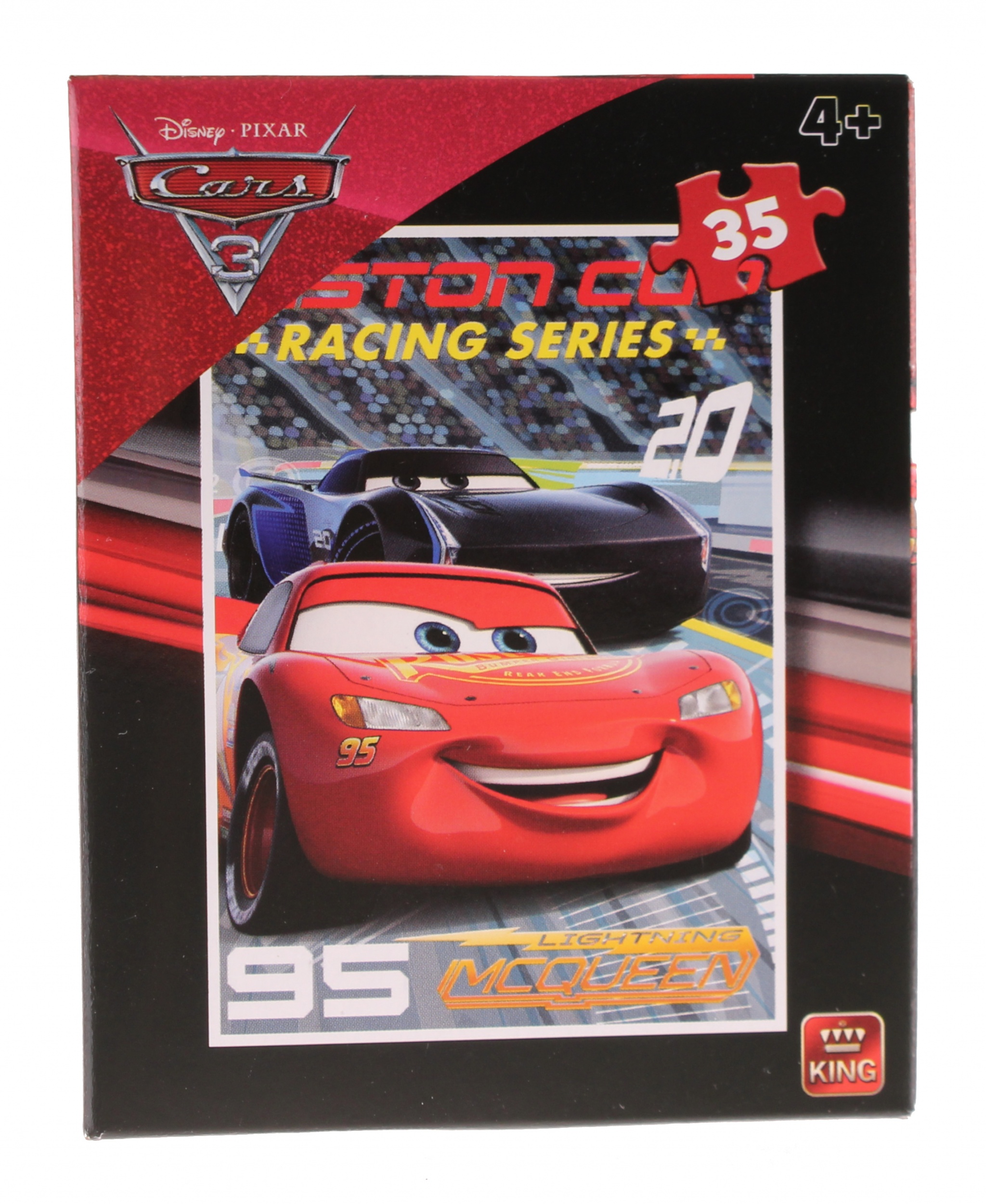 King Puzzle Disney Cars 3 Lightning Mcqueen95 35 Teile Internet Toys