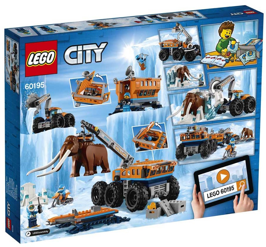 City: Arctic mobile research base at the North Pole (60195)