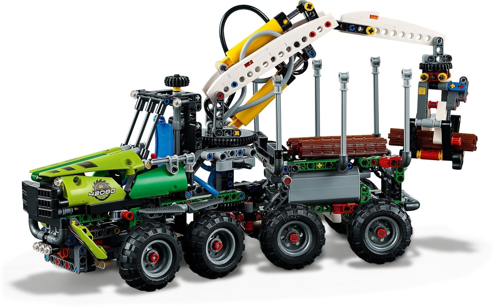 LEGO Technic: forestry machine (42080) - Internet-Toys