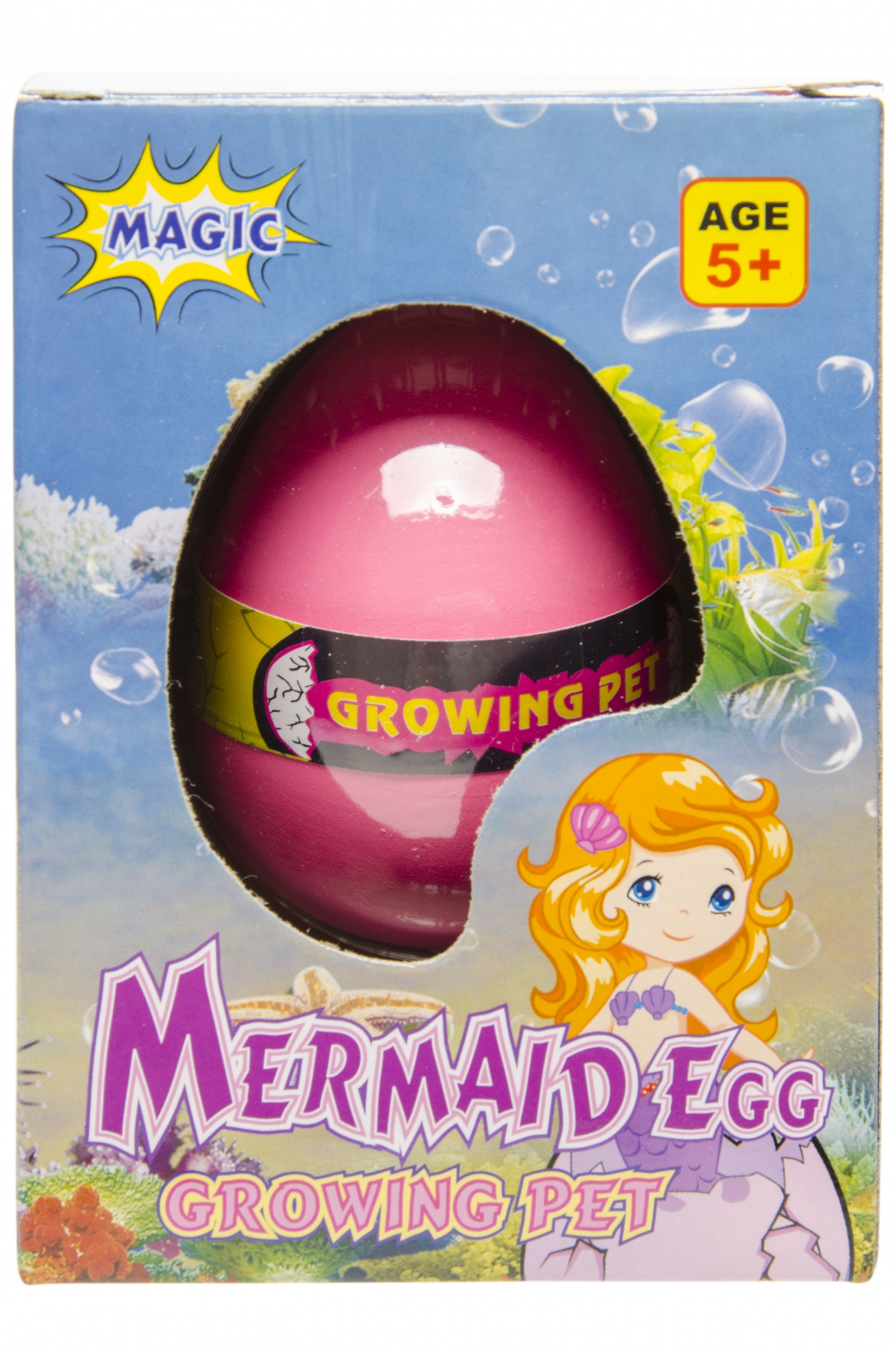 Egg Chair Roze.Lg Imports Mermaid Egg Magic 6 X 4 Cm Pink Internet Toys