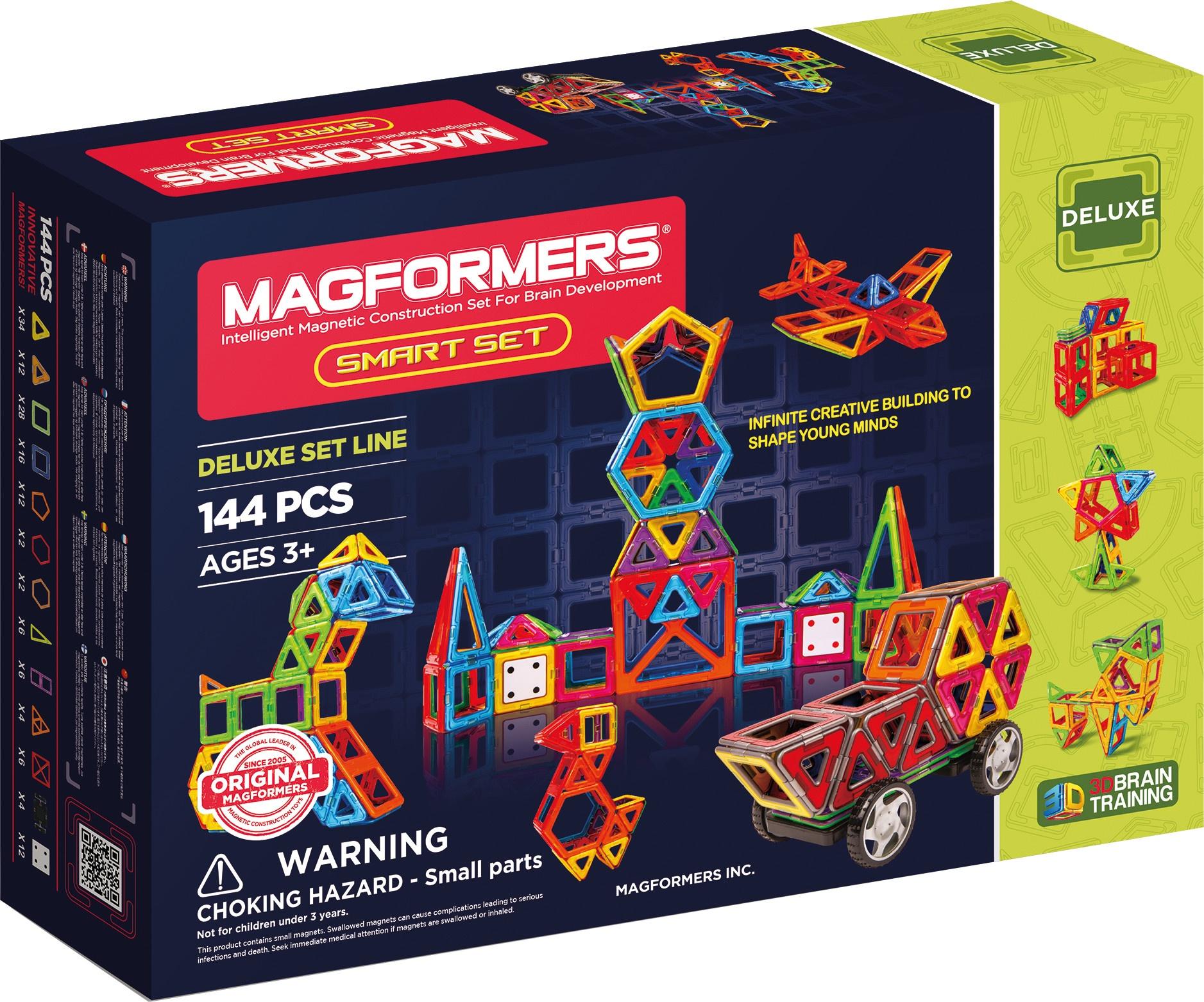 Magformers Smart Set 144 Piece Internet Toys