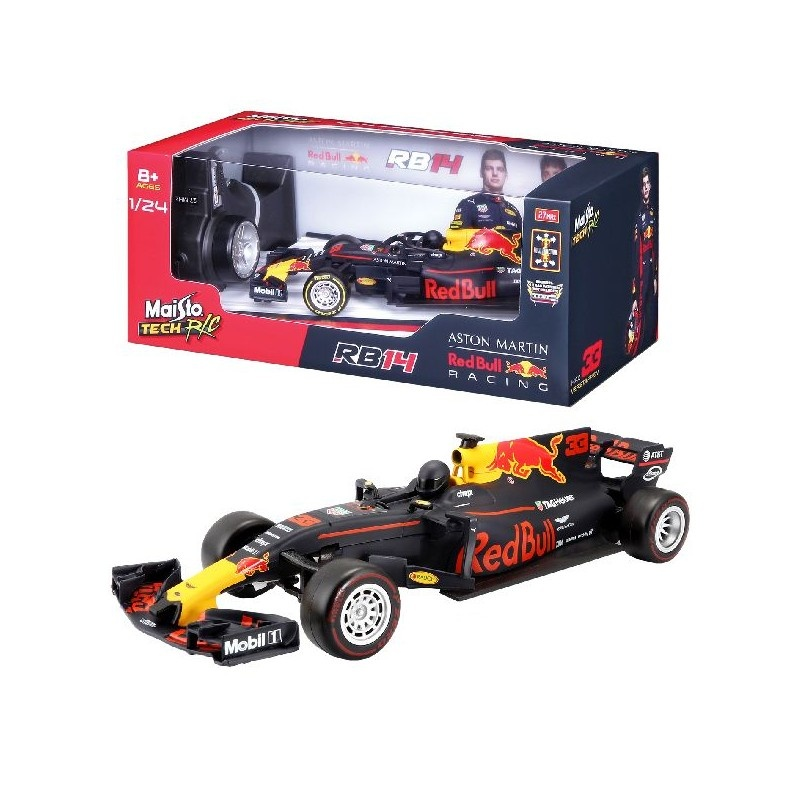 Maisto Max Verstappen Red Bull Rb14 F1 Auto 2018 Rc 1 24 Internet Toys