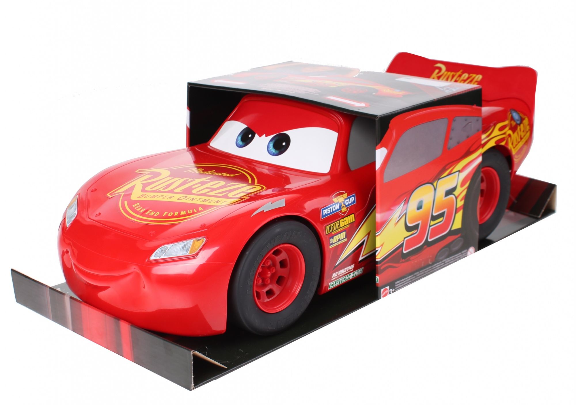 Mattel Action Car Lightning Mcqueen Red 50 Cm Internet Toys