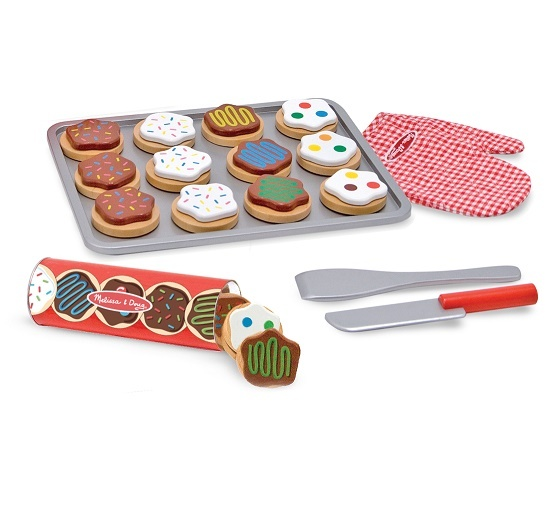 Wooden Cookie Set 30 Pieces