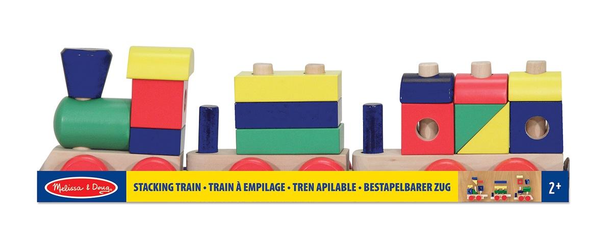 Train 18 D'empilage En Bois Pièces srtdhQ