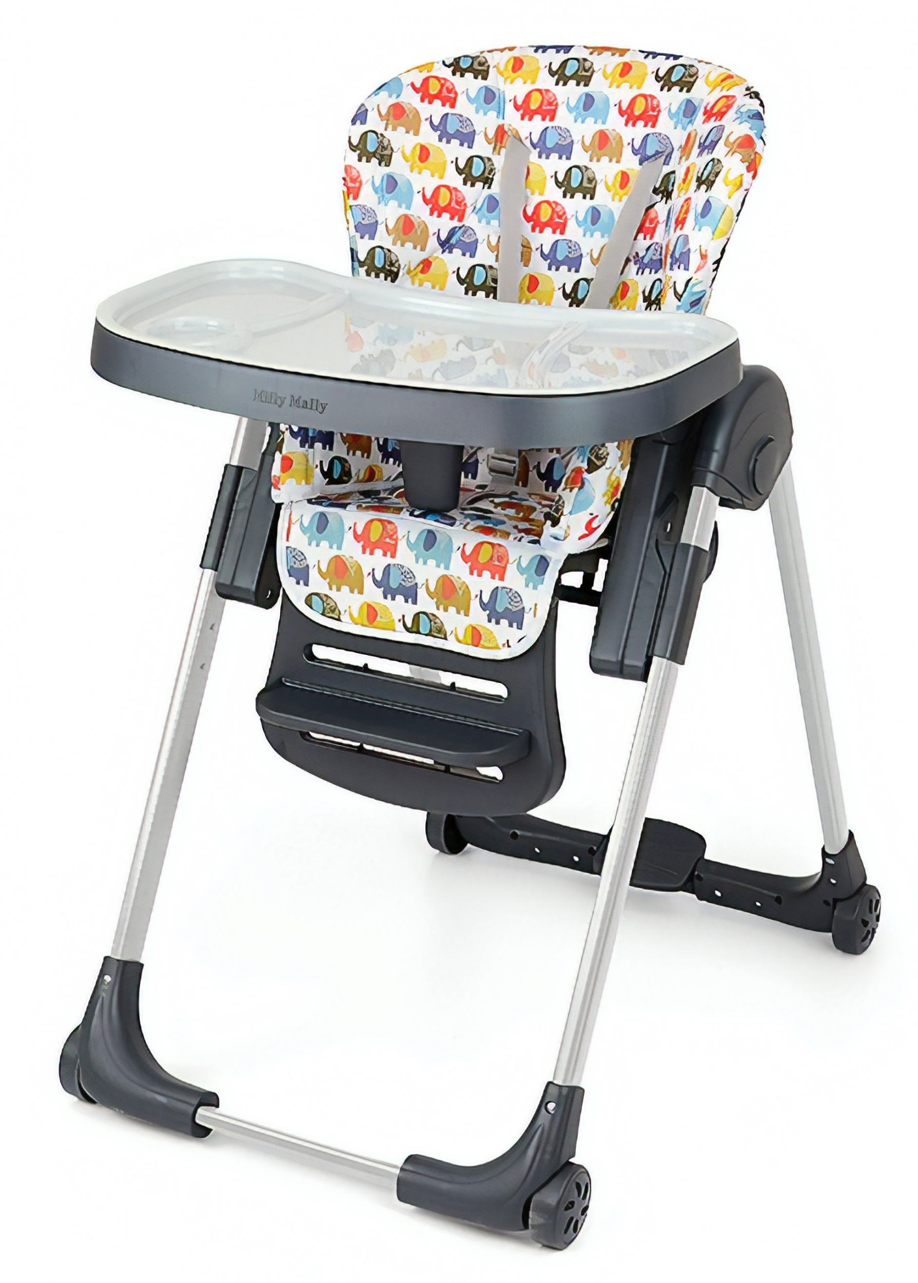 f84440f8c10 Milly Mally high chair Milano Elephant102 cm multicolor - Internet-Toys