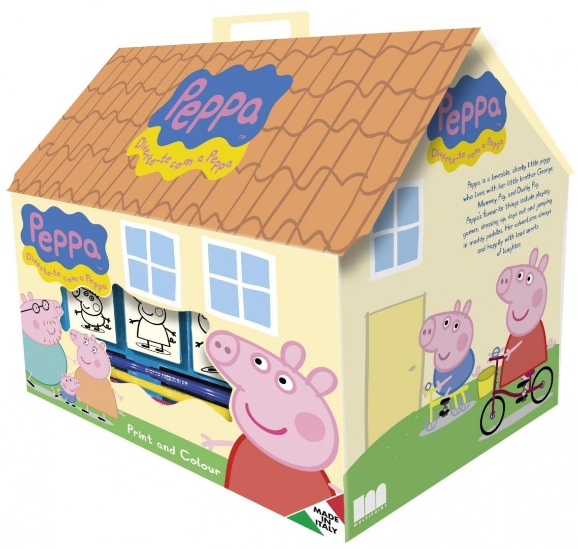 Ensemble De Coloriage Peppa Pig 17 Pièces