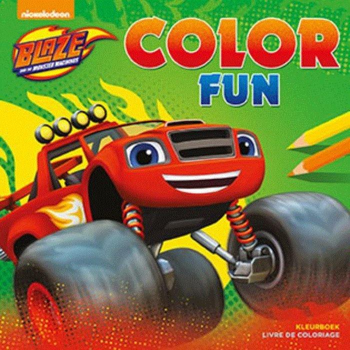 nickelodeon color book blaze color fun 22 cm internet toys