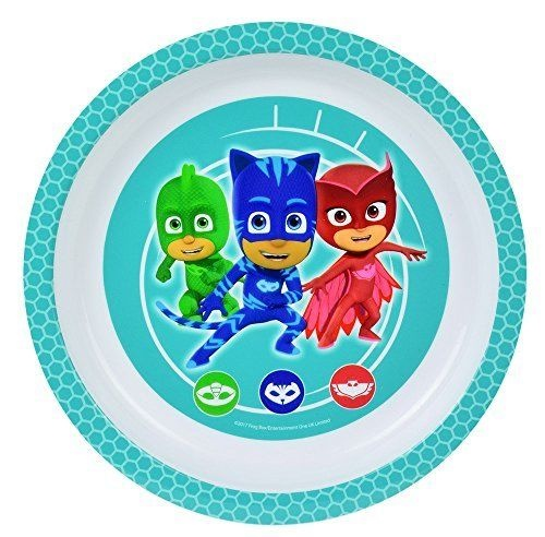 cff1f1b8b80 Disney PJ Masks plate 18 cm blue   white. Brand  Disney · Disney PJ Masks  plate 18 cm blue ...
