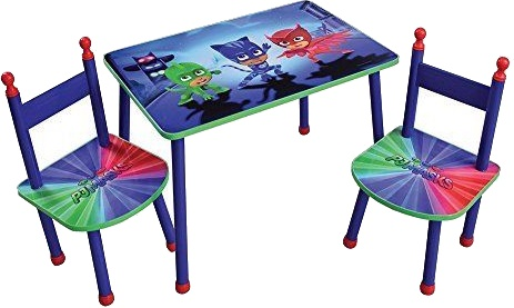 Disney Pj Masks Table With Junior Chairs Internet Toys