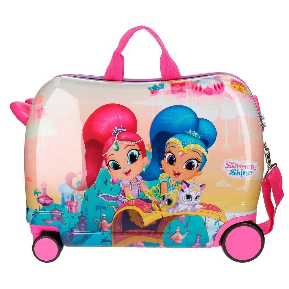 f2ac1f502c4f Nickelodeon ride-on suitcase Shimmer en Shine 34 liters girls. Enlarge