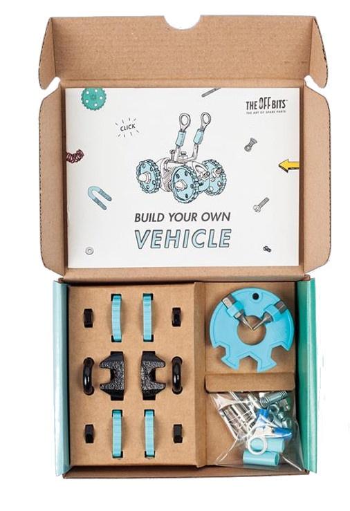 the offbits kit charactar kit 3 in 1 kit blue internet toys