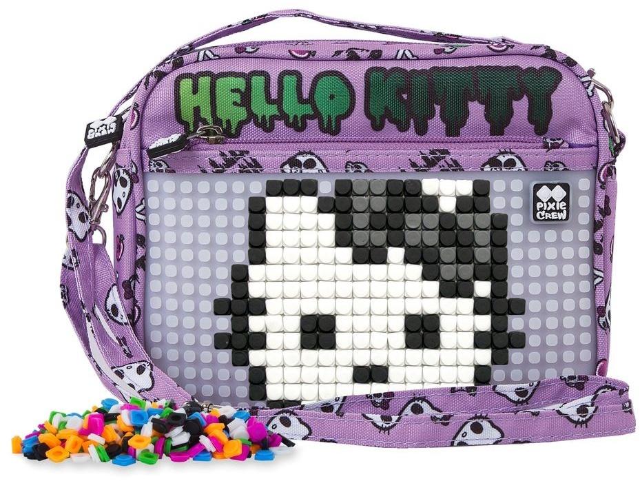c1db4ed52 Pixie crew handbag with silicone panel Hello Kitty 2 liters purple ...