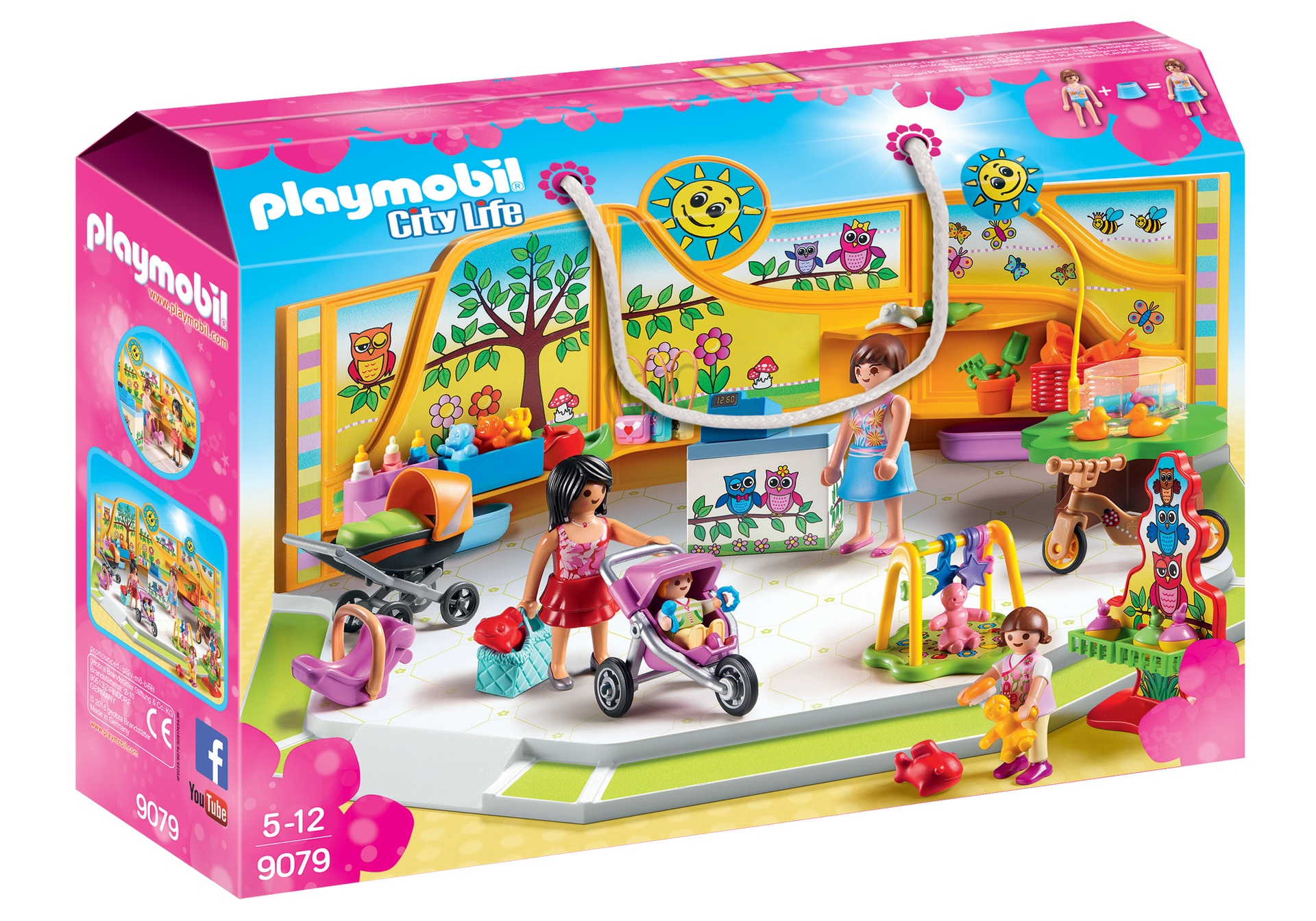 arriveert Koop Authentiek super goedkoop PLAYMOBIL City Life: Babywinkel (9079) - Internet-Toys