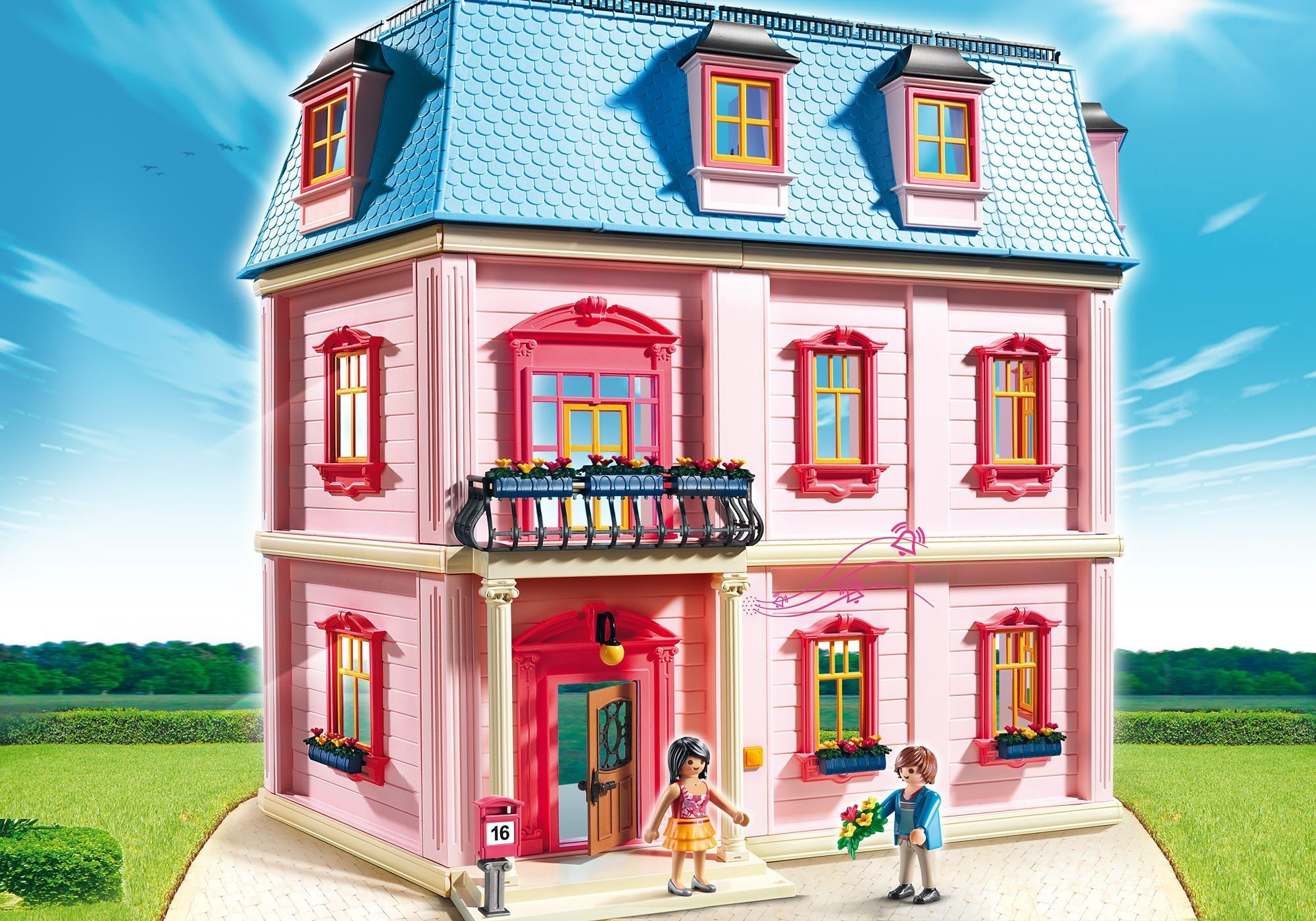 Playmobil puppenhaus haus 5303 internet toys - Playmobil haus schlafzimmer ...