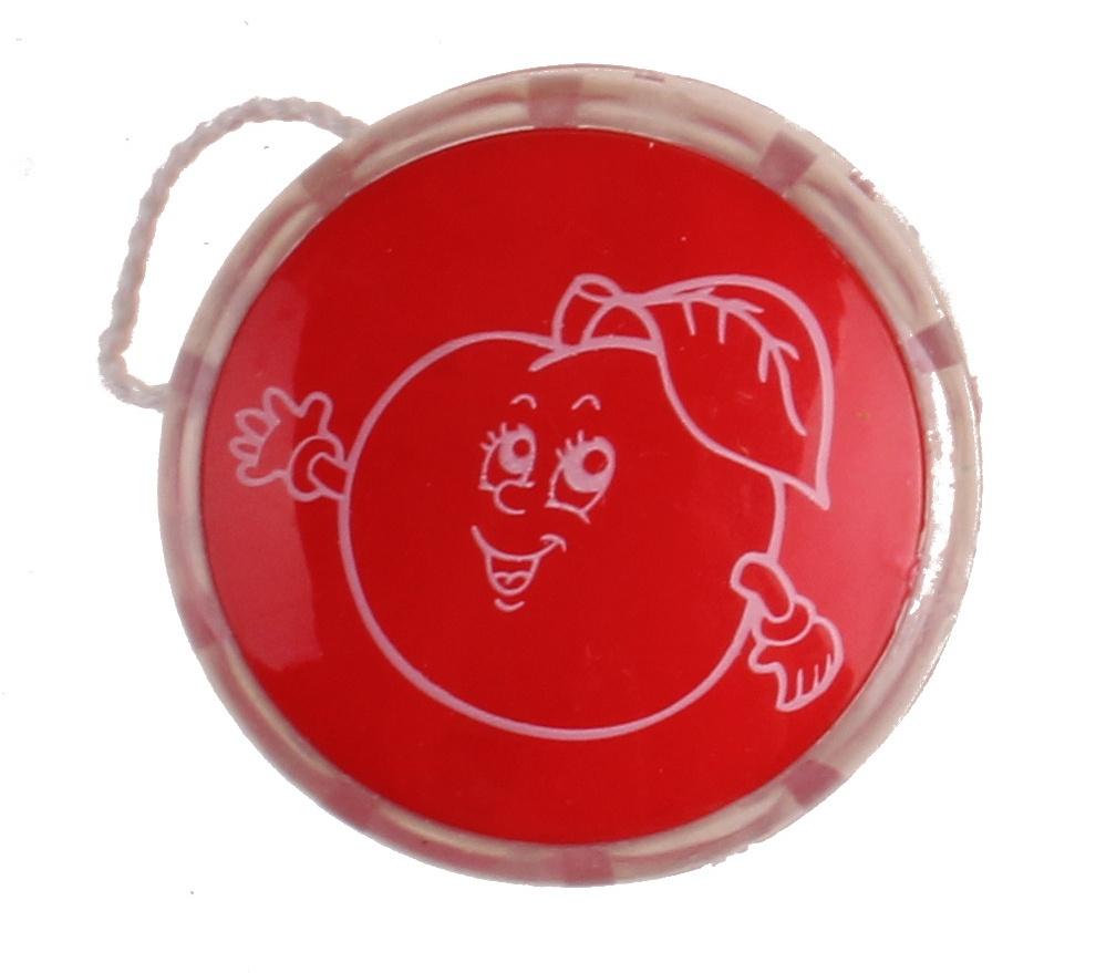 yo-yo apple 4 cm red