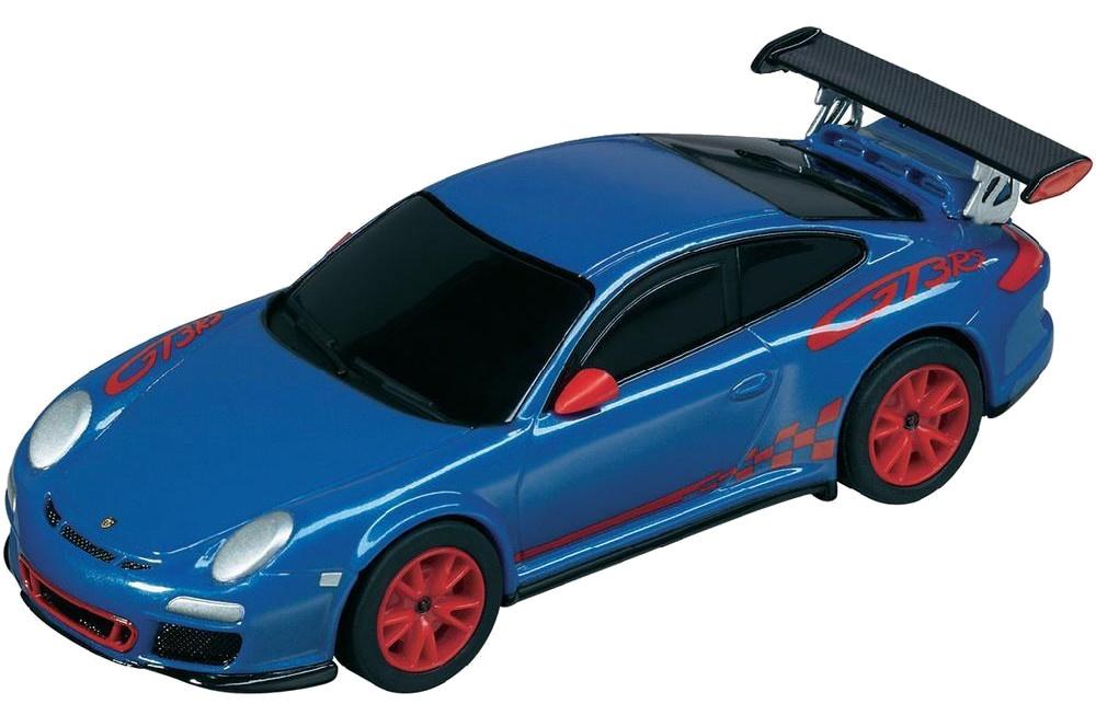 Pull Speed Porsche 997 Gt3 Rs Sportauto Blauw 10 Cm Internet Toys
