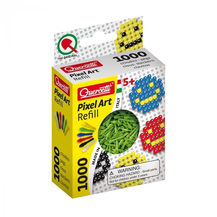 Pixel Art Aanvuldoos Vert Diamètre 4 Mm 1000 Pcs