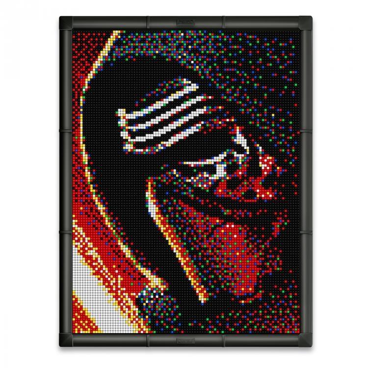 Quercetti Star Wars Pixel Photo Kylo Ren 11400 Pcs