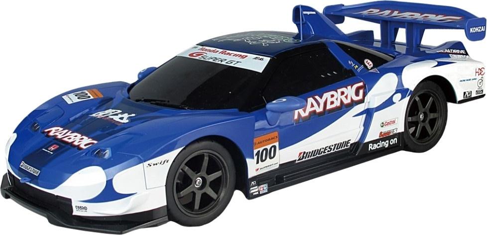 Race Tin Rc Car 1 10 Honda Nsx Super Gt 45 5 Cm Blue Internet Toys