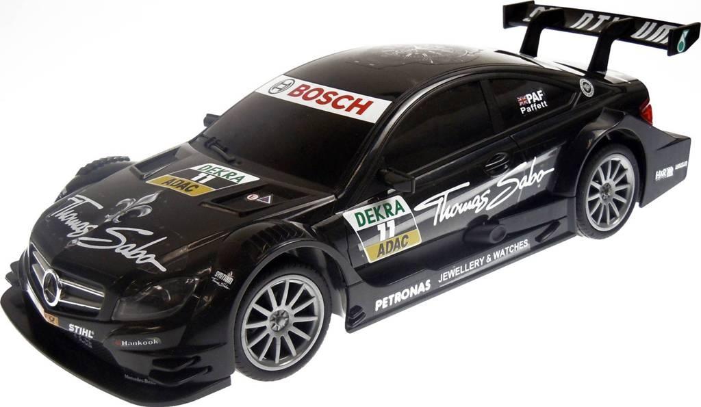 Race Tin Rc Car 1 16 Dtm Mercedes C Class Coupe Amg 36 Cm Black