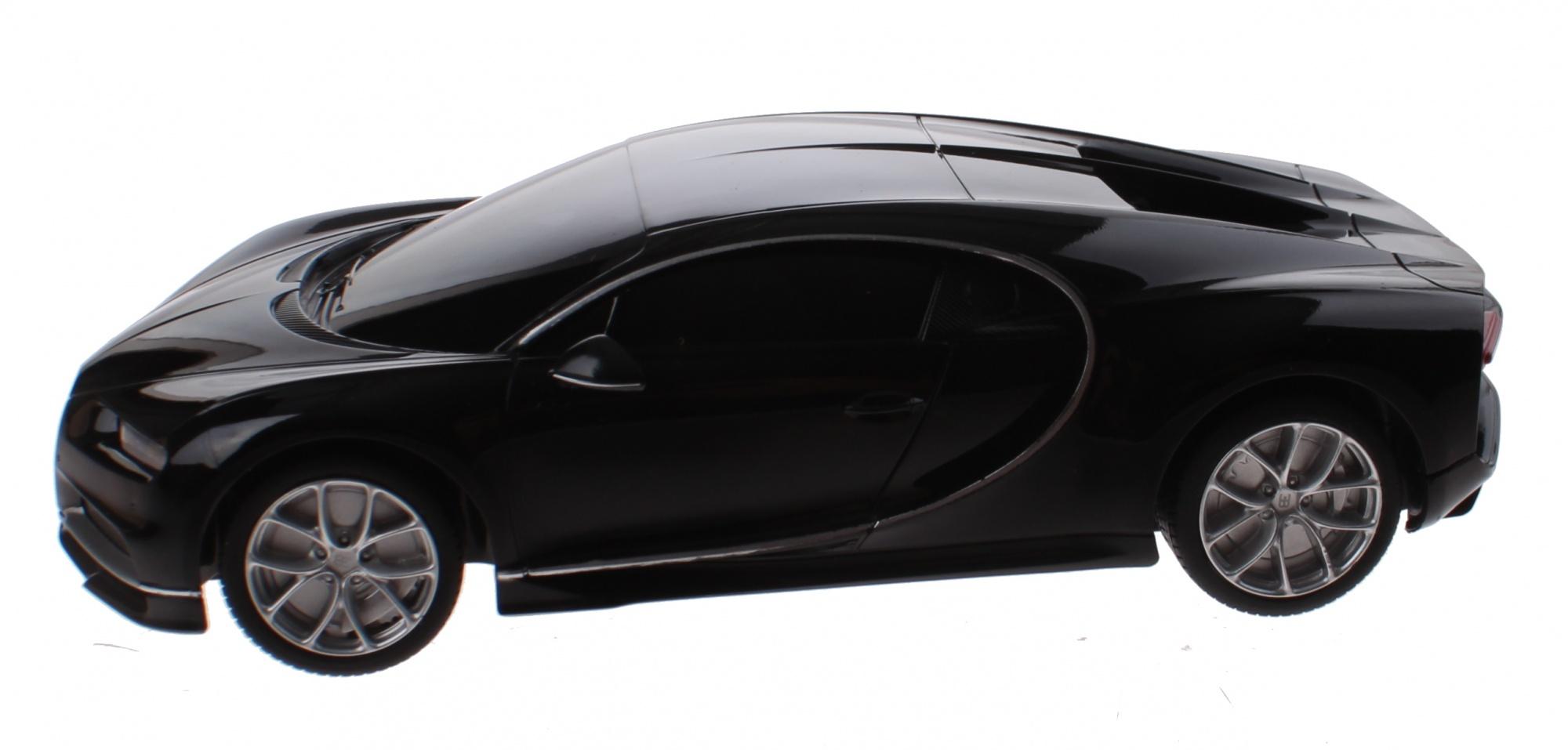 Rastar Rc Bugatti Chiron Dish 1 24 Black Enlarge