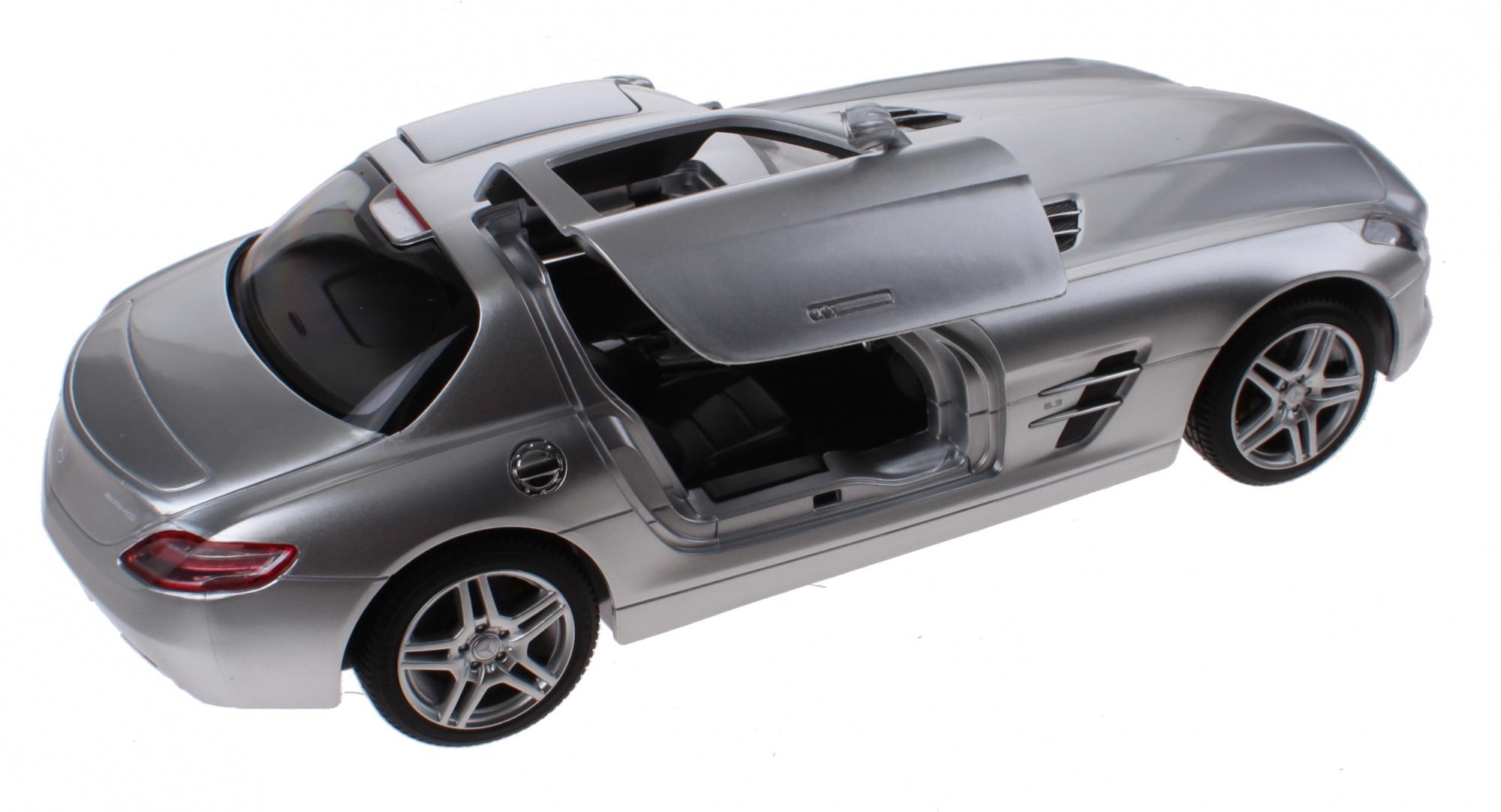 Échelle Argent Rc Mercedes Cm 14 1 Sls Benz Rastar 30 Amg OZPXkiu