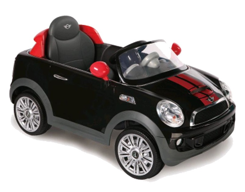 Rollplay Mini Cooper S Coupe Battery Vehicle 12 Volt Black