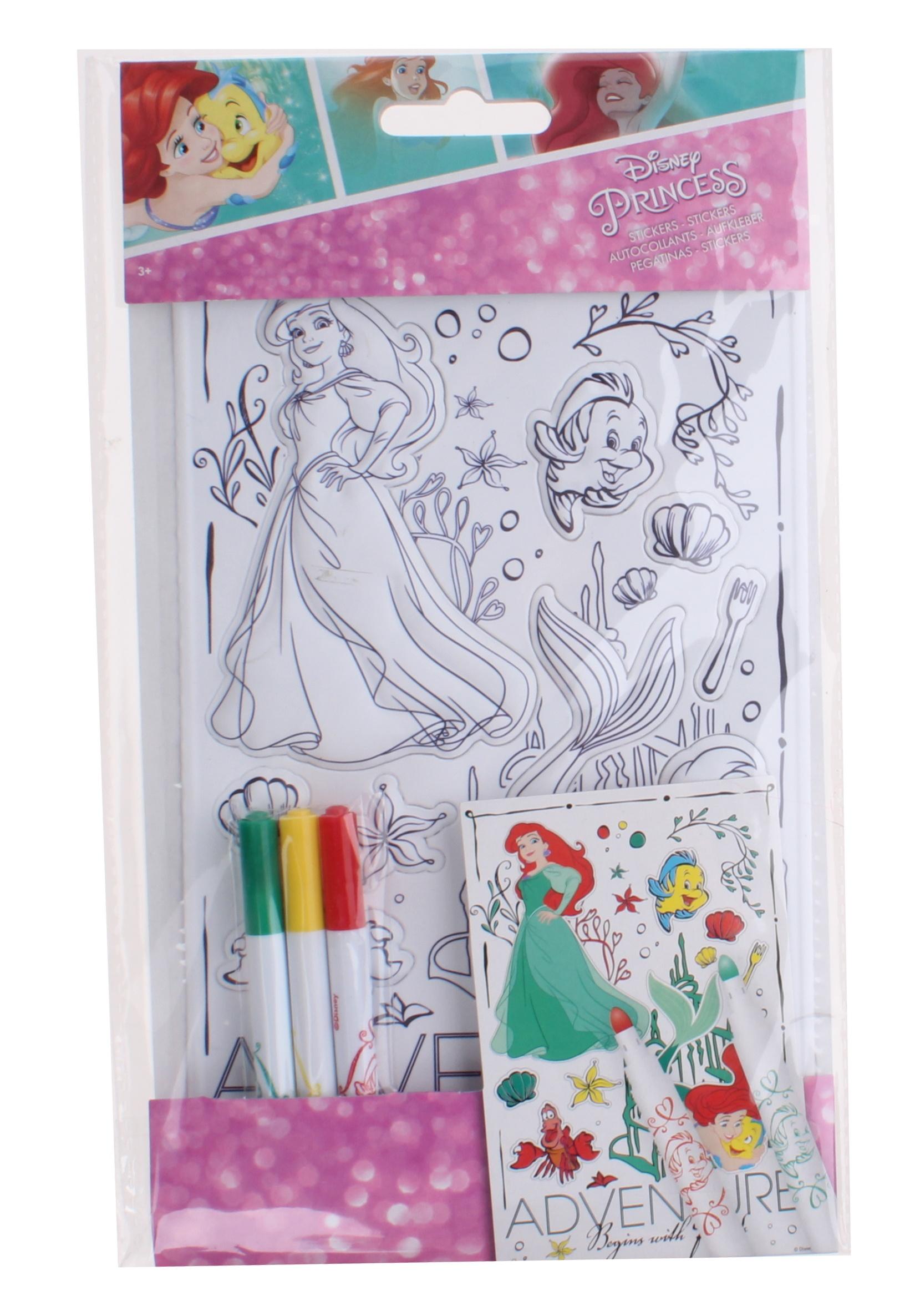 sticker sheet disney princess 4 piece