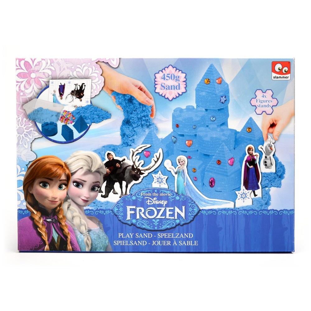 Slammer Play Sand Frozen Castle Blue Internet Toys