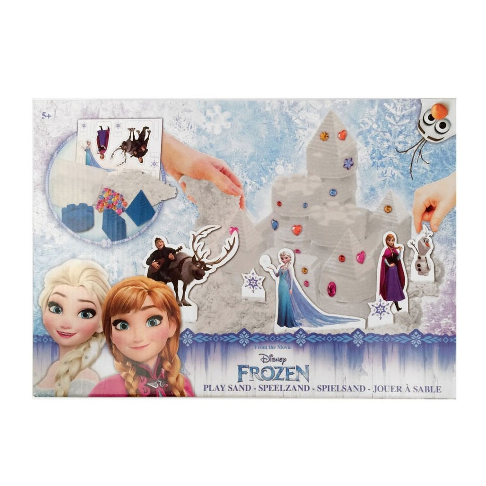 Slammer Play Sand Frozen Castle White Internet Toys