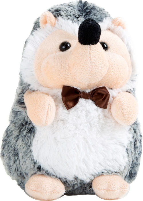 cdc6da109c4165 Small Foot Knuffel egel pluche 14 x 11 x 19 cm grijs - Internet-Toys