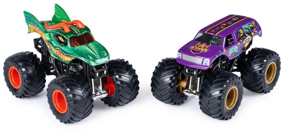 a5e9ea8011 Spin Master Monster Jam monster trucks 9 cm Dragon/Jester - Internet ...