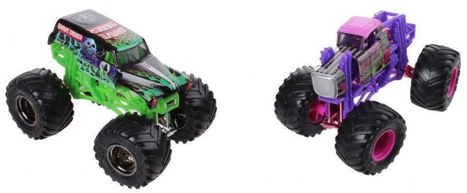 e20a3affc2 Spin Master Monster Jam sample trucks 9 cm Gravedigger/Wildflower. Enlarge