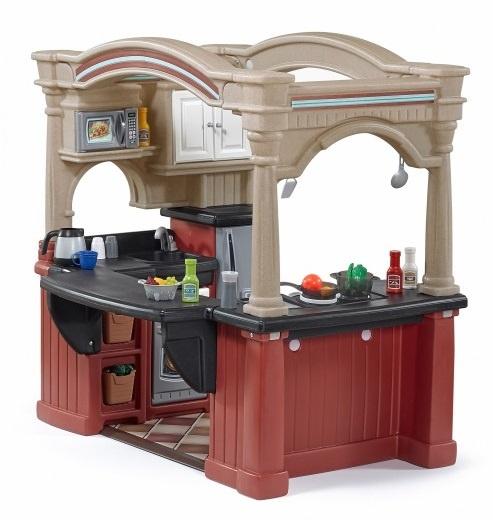 Play Kitchen Grand Walk In Kitchen 119 Cm 103 Piece
