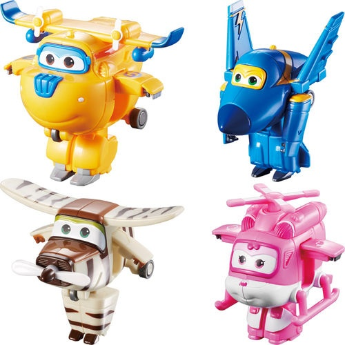 """5/"""" Character 4 pack Super Wings"""