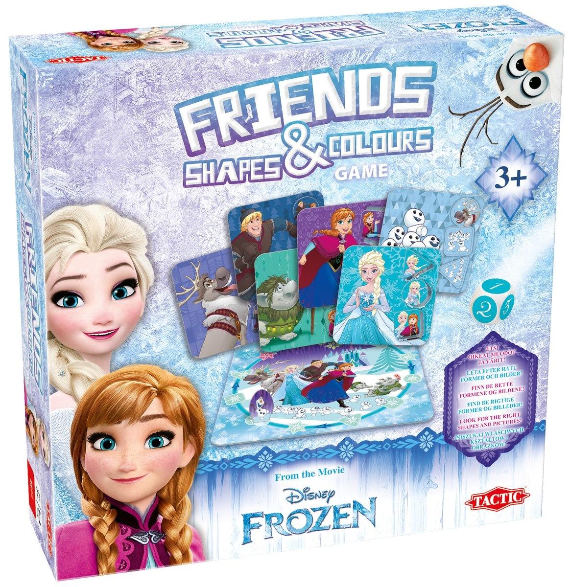 party game Frozen Friends Shapes & Colors