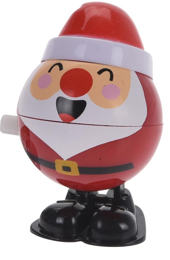 tender toys aufzugsfigur weihnachtsmann rot wei 7 cm. Black Bedroom Furniture Sets. Home Design Ideas
