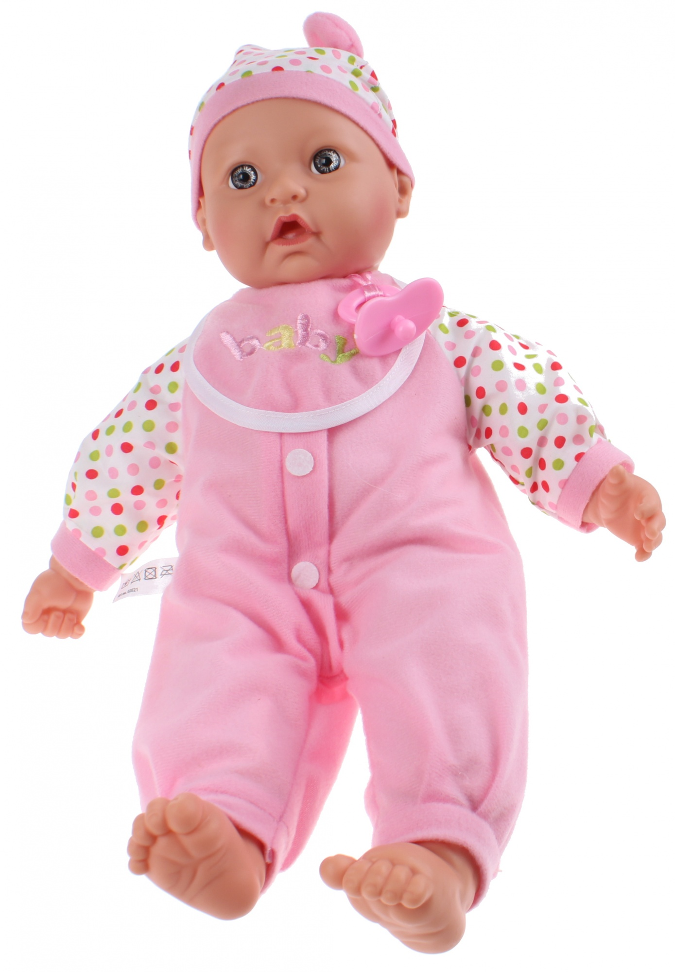 ce2bc860b52 Toi-Toys baby doll Baby Cute 40 cm pink 3-piece - Internet-Toys