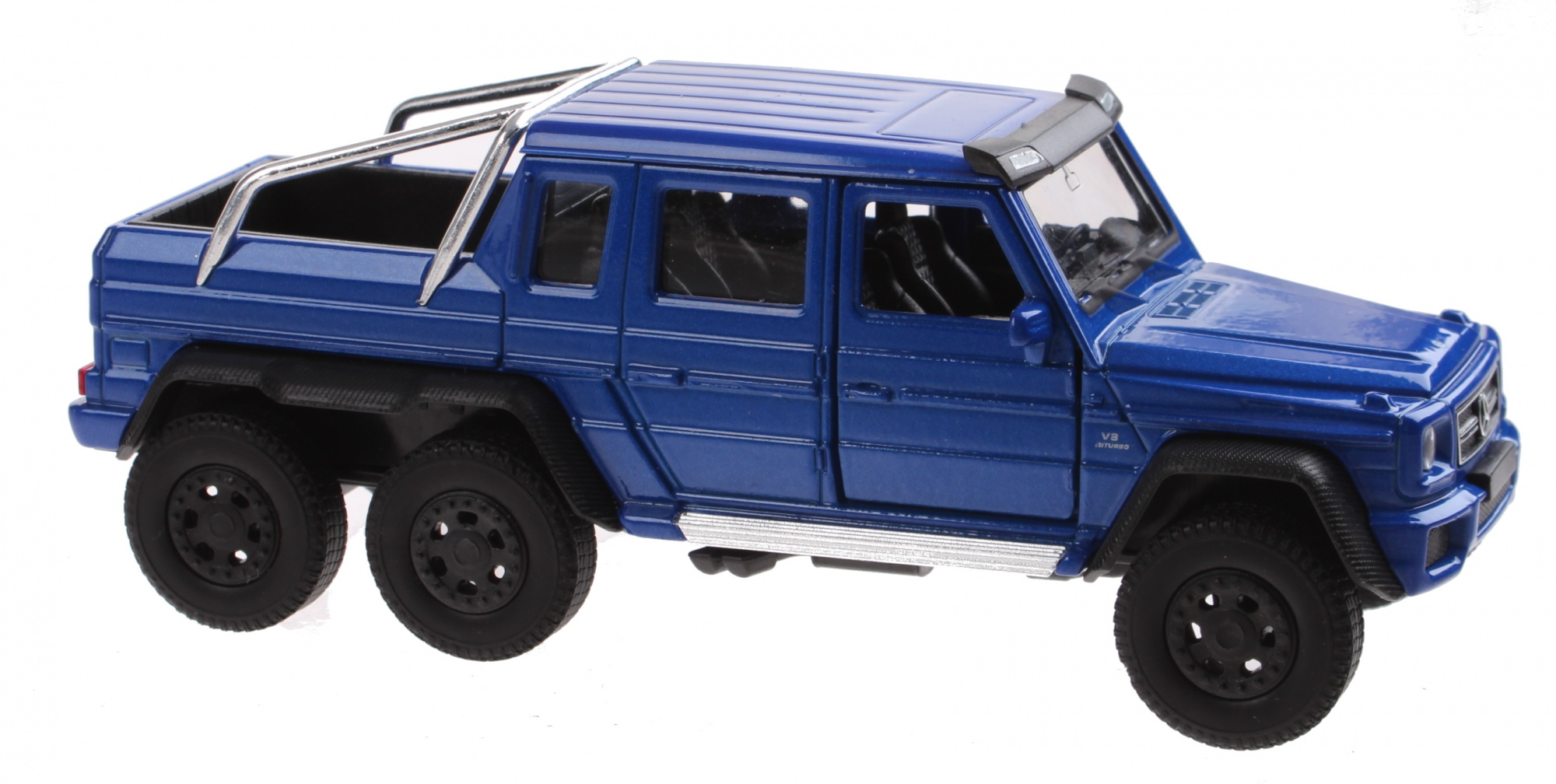 G63 Amg 6X6 >> Scale Model Mercedes Benz G63 Amg 6x6 Blue 13 Cm